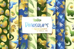 Dinosaurs Digital Papers Product Image 1