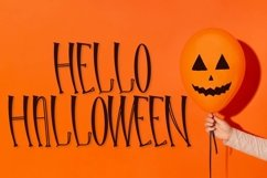 Web Font Hello Halloween - A Spooky Font Product Image 1