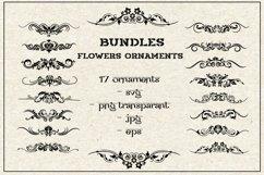 bundles svg flowers ornaments vol 2 Product Image 1
