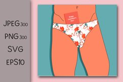 Valentine's day greeting card design. Erotic congratulations Product Image 1