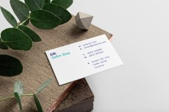 Doctor Minimalistic Business Card Template Product Image 3