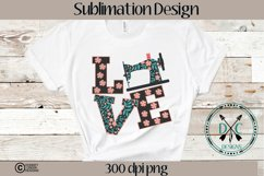 Sewing Love Sublimation Design Product Image 3