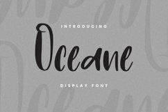 Web Font Oceane Font Product Image 1