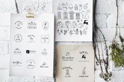 Magic Winter script font duo & logos Product Image 6