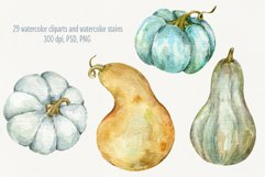 Autumn Time. Watercolor isolated cliparts Product Image 5