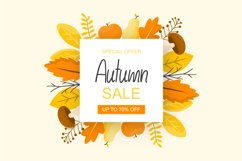 Autumn Days | Fall Themed Handwritten Font Product Image 2