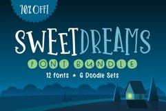 Sweet Dreams Font Bundle Product Image 1