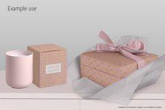 Gold Patterns on Blush Product Image 5