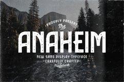 Anaheim Sans Display Typeface Product Image 1