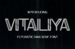 Web Font Vitaliya Font Product Image 1