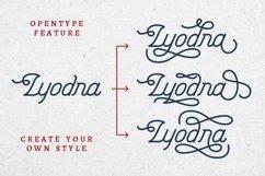 Lyodra - Modern Vintage Script Product Image 5