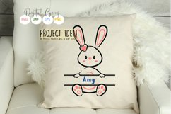 Split Bunny Rabbits, Easter SVG / DXF / EPS / PNG files Product Image 6