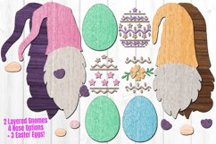 Easter Egg Gnome SVG Glowforge File Laser Cut Files Bundle Product Image 2