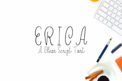 Erica Script Font Product Image 1
