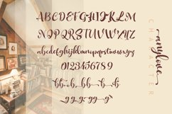 Anylove   modern scriptFont dou Product Image 2