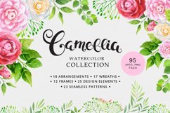 Camellia watercolor collection Product Image 1