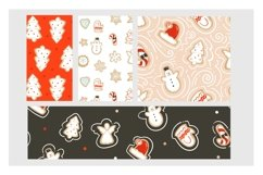 Christmas cookies vector collection Product Image 5