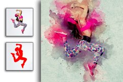 Artistic Watercolor Photoshop action Product Image 5