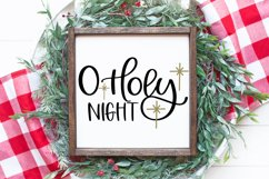 A Holiday Story - A Christmas Hand-Written Font Trio Product Image 3