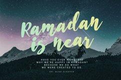 Husein Script | Handwritten Ramadan Font Product Image 3