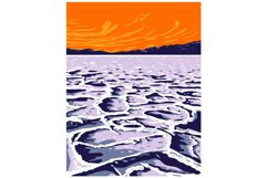 The Badwater Basin in Death Valley National Park Inyo County Product Image 1