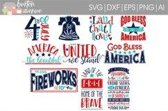 Patriotic SVG Bundle-cut files for Cricut, Silhouette Product Image 1