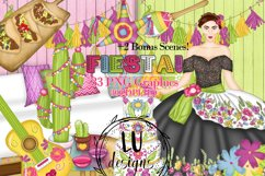 Cinco De Mayo Clipart, Mexico Clipart, Fiesta Graphics Product Image 1