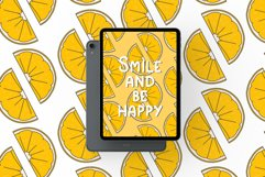 Simple playful font - Lemon Product Image 4