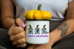 Halloween sublimation designs fall Halloween witch gnomes Product Image 2