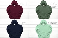 Hoodie Mockup Bundle Gildan 18500 Basic hoodie mockups Product Image 6
