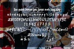Hafela   Modern Texture Script Font Product Image 6