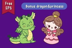 Little Dragon handwritten kawaii style Product Image 2