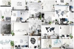 Scandinavian Interior Frames & Walls Mockup Bundle - 3 Product Image 2
