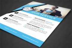 Our Service Flyer Product Image 2