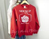 Gildan Sweatshirt Mockup Bundle - Gildan 18000 Mock Up Product Image 4