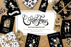 Christmas vector graphic set Product Image 1