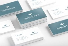 Medical Minimal Business Card Template Product Image 2