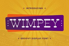 Wimpey Font Product Image 1