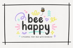 BeeHappy Font Duo Product Image 1