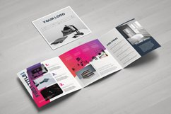 Gradient Square Trifold Template Product Image 4