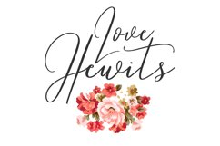 Love Hewits Typeface Product Image 1