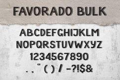 Favorado typeface Product Image 2
