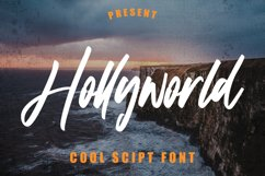 Hollyworld - Cool Script Font Product Image 1