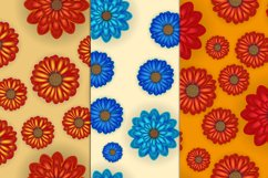 Realistic flowers set Product Image 2