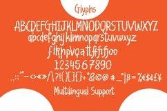 Web Font Bloonbark - Blob Fancy Font Product Image 4