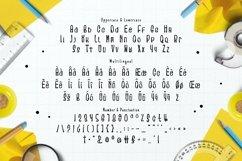 Web Font Auto Yellow Font Product Image 3