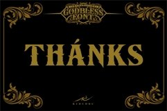 GODBLESS FONT Product Image 2