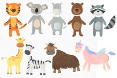 Papercut Animals Clipart Product Image 5