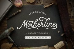 Motherline Vintage Toolbox Product Image 1