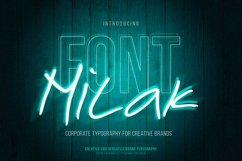 Milak Font Product Image 1